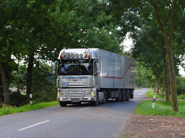 Gerben Faber Transporte Hemmoor Oberndorf Niedersachsen Cuxhaven